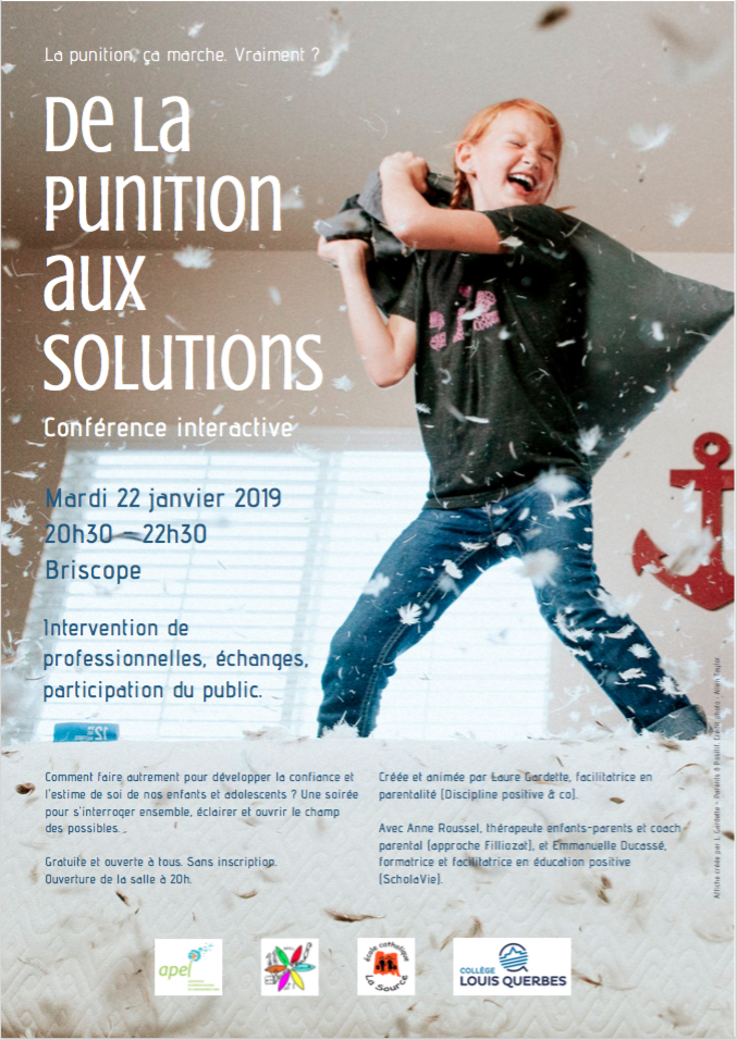conférence Anne Roussel punition solutions