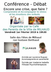 Conférence Laurence Nugues Milhaud 2019